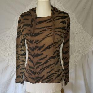 Chaps Tiger stripe Hoodie